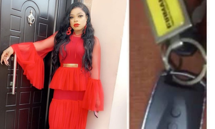 Bobrisky Accused Of Passing Off A Generator Key As His Car Key